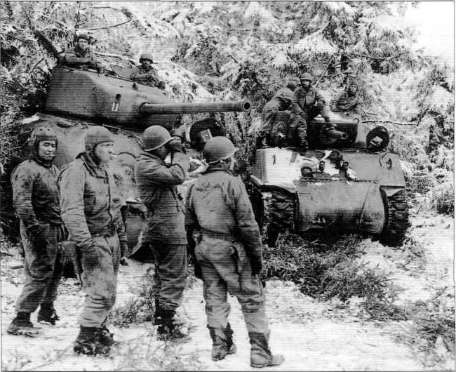 Battle Of The Bulge Pictures Four Bees: US M...