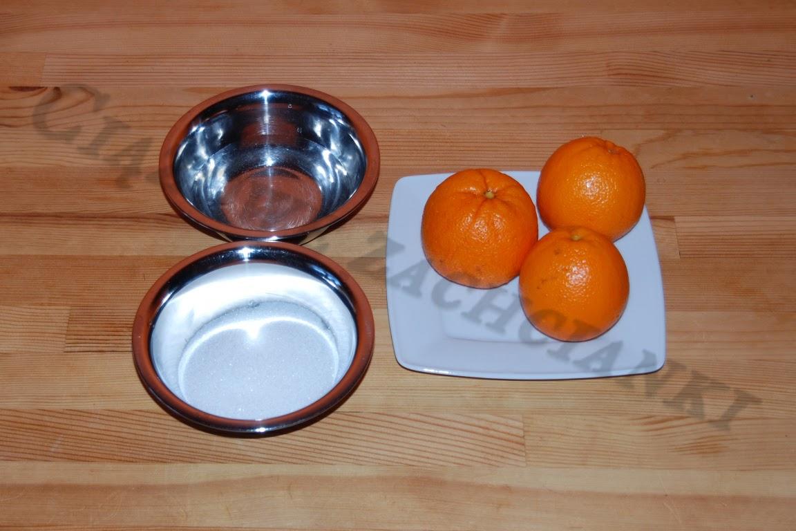 Skórka pomarańczowa do ciast.