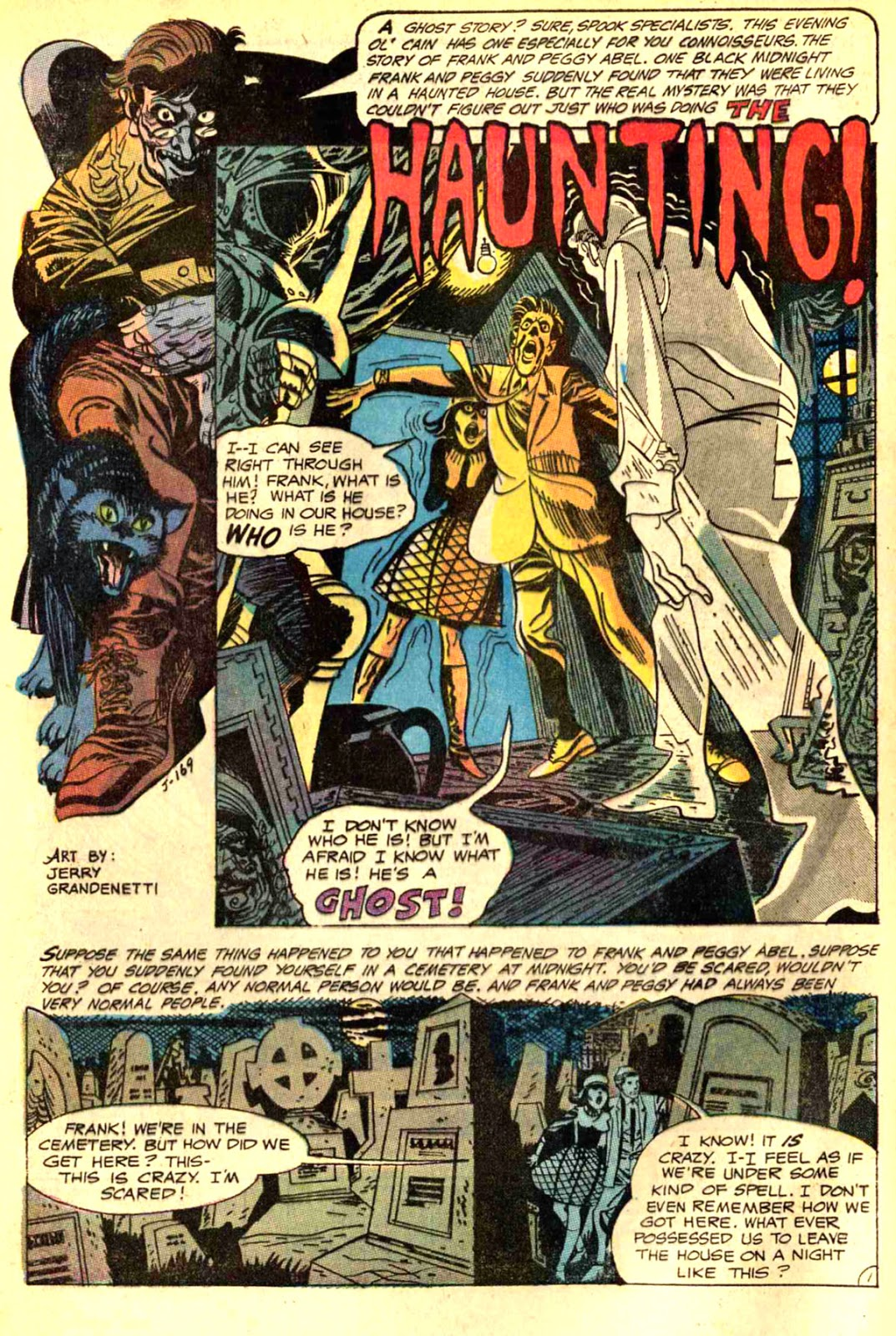 The Bronze Age Of Blogs Jerry Grandenetti In House Mystery Hi Hansithe Codes Do Point To An Electrical Problem With Transfer Which Is Entirely These Three Stories Today Arent And Themselves Scary But Art Makes Them Creepy Worrying Because Every Panel