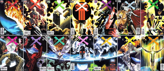 EARTH X COMPLETE SET. PLEASE SMS ME AT 9616 9144 FOR ANY ENQUIRIES.