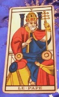 Arcano V- El Papa- Tarot de Marsella
