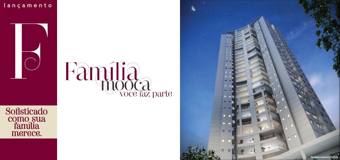 FAMÍLIA MOOCA - Apartamentos com 122m², 3 suítes na Mooca