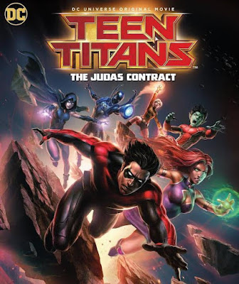 Teen Titans: The Judas Contract 2017 DVD Custom WEBDL NTSC Latino