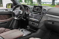 Mercedes-AMG GLS 63 4Matic (2016) Dashboard