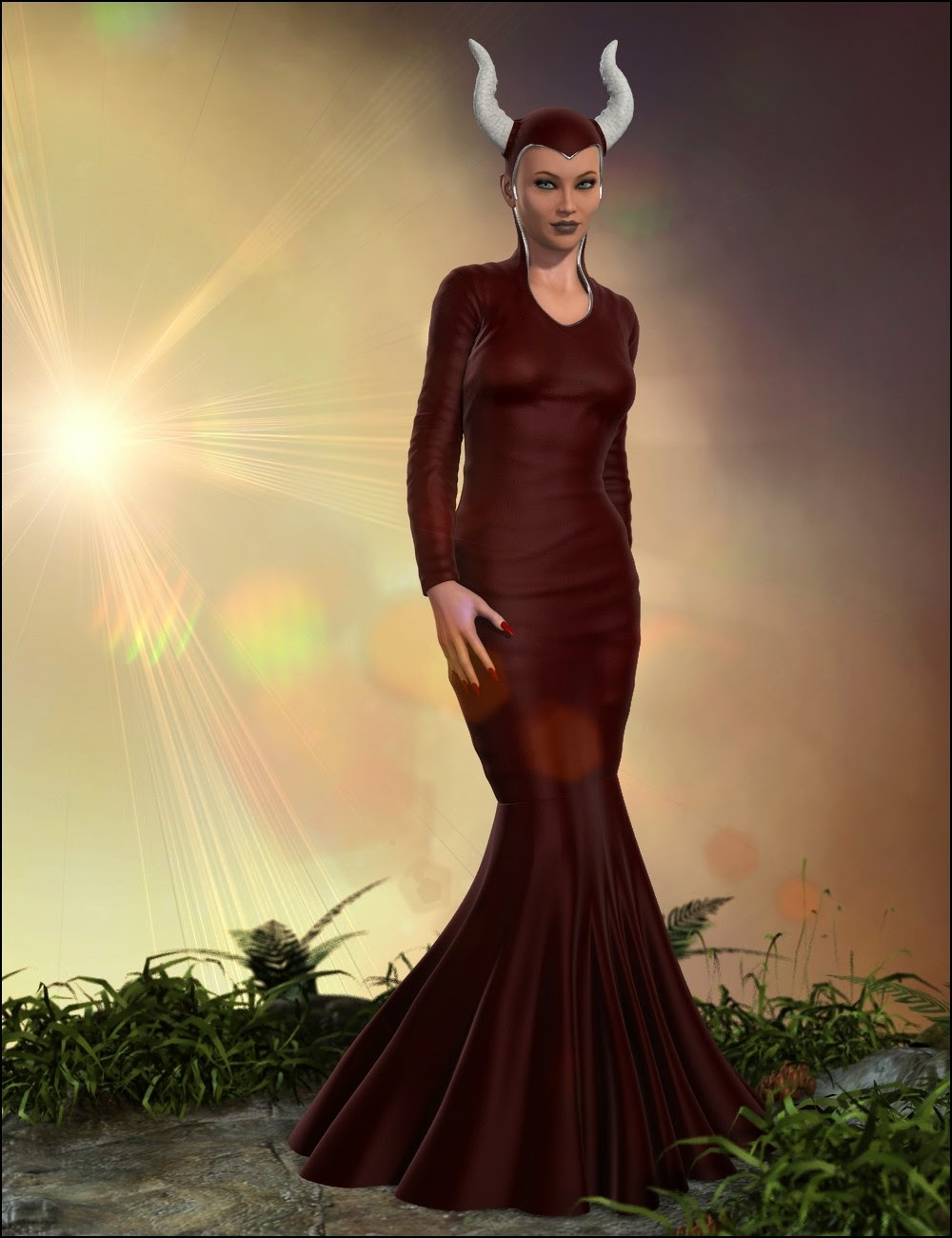 Méchante reine Outfit