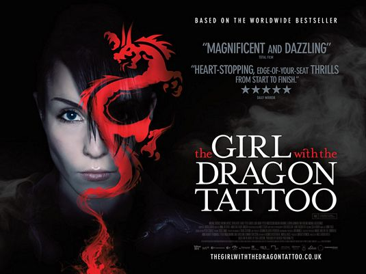 girl with dragon tattoo back. The Girl with the Dragon