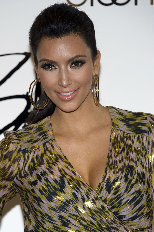 Kim Kardashian Ponytail Hair 09