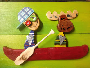 A little whimsy... and an enormous pile of  wood scraps, fruit crates, and a variety of other....