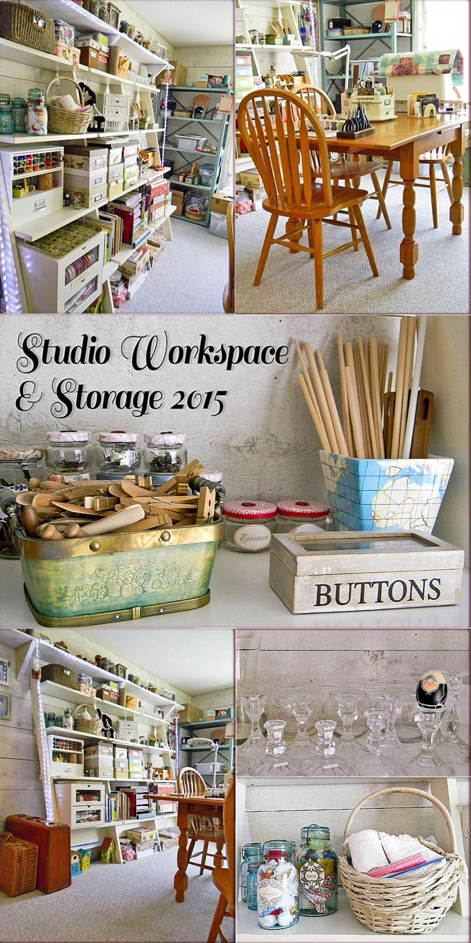 Studio Work-space & Storage 2015