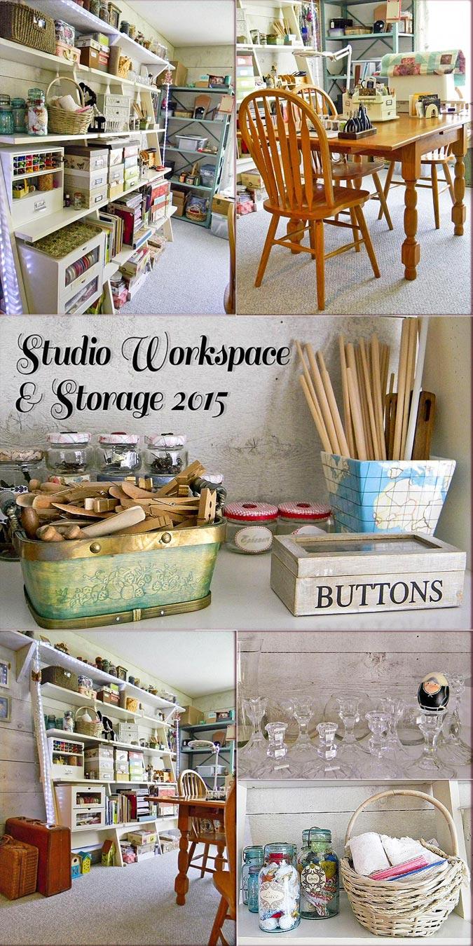 Studio Work-space & Storage 2015