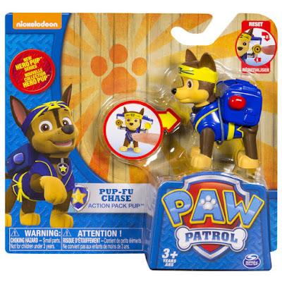 TOYS : JUGUETES - PAW PATROL : La Patrulla Canina Hero Pup - Pup-Fu Chase | Figura - Muñeco 2015 | Serie Television Nickelodeon Spin Master - Bizak | A partir de 3 años Comprar en Amazon España & buy Amazon USA