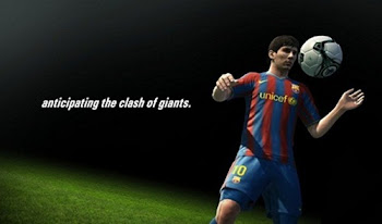 Messi's Jugling on PES 2012
