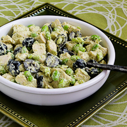 Kalyn's Kitchen®: Leftover Chicken Pesto Salad Recipe with ...