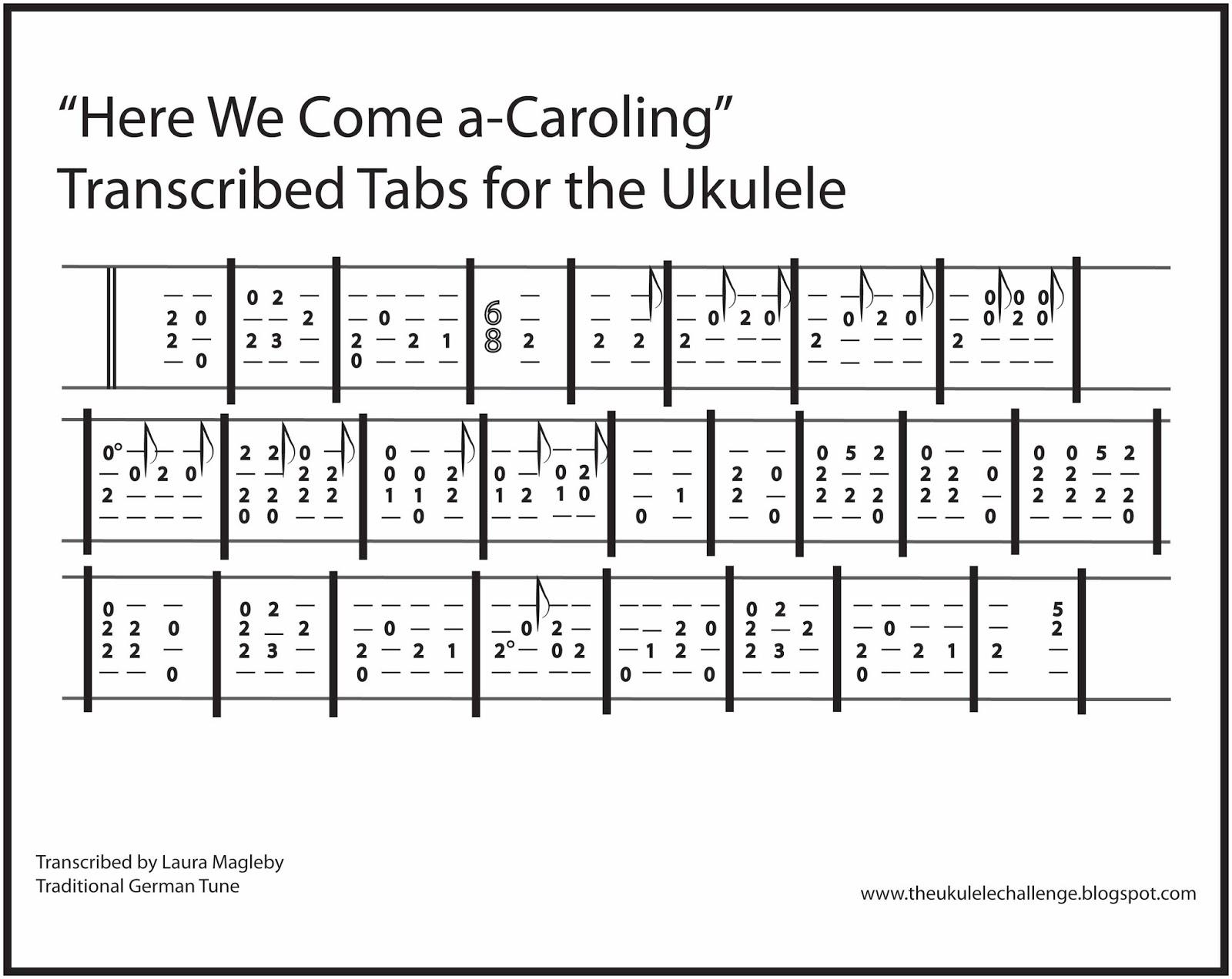 The Ukulele Challenge: November 2015