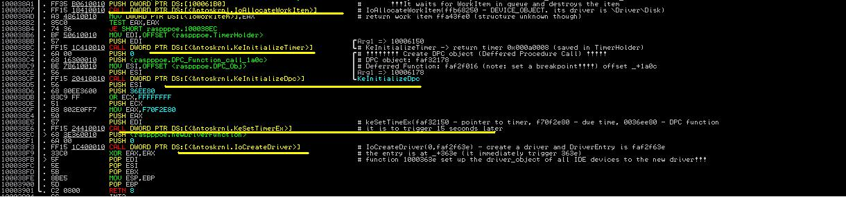 Malware Analysis Tutorial 25: Deferred Procedure Call (DPC) and TCP Connection