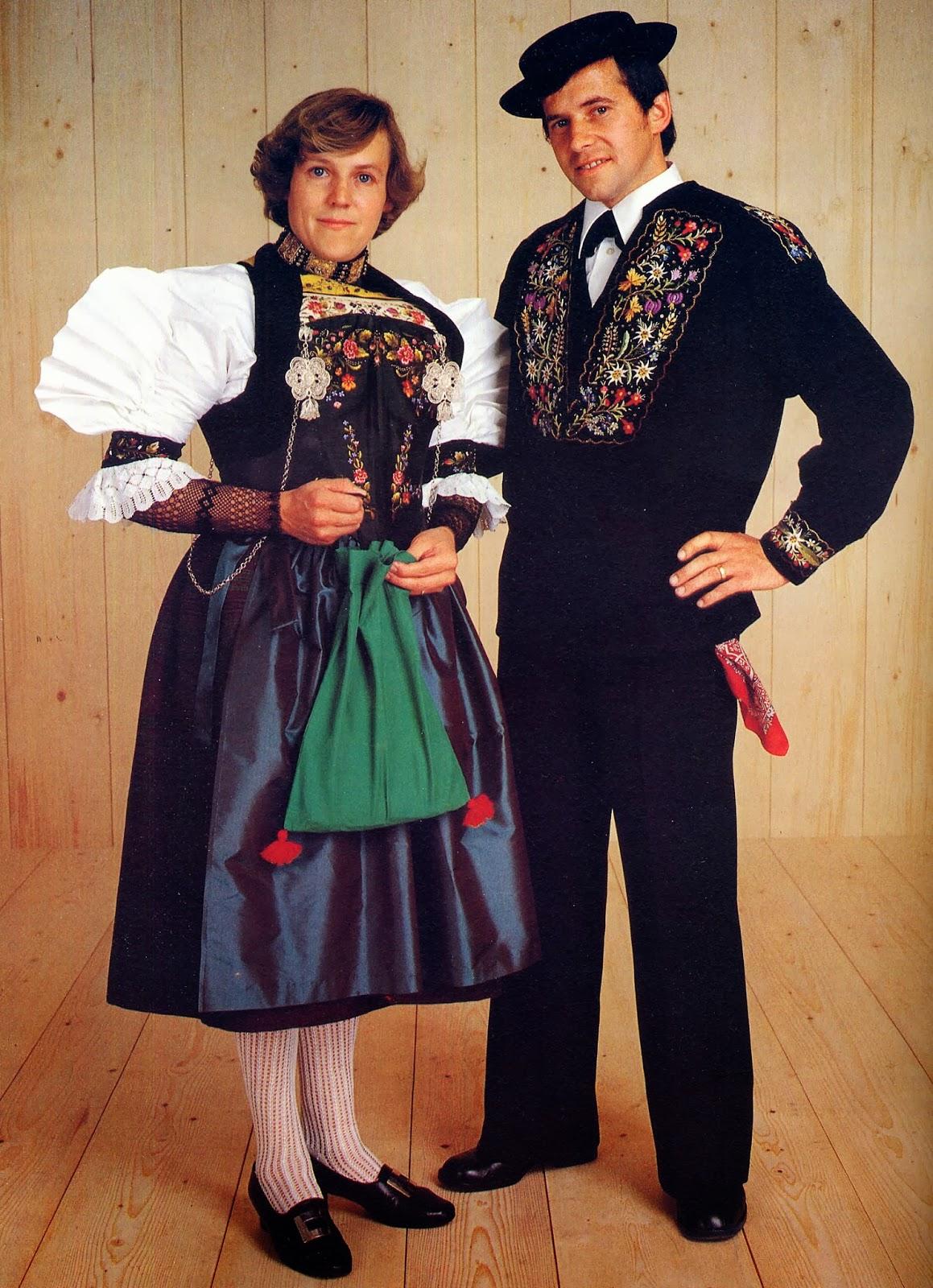 Национальный костюм Швейцарии фото