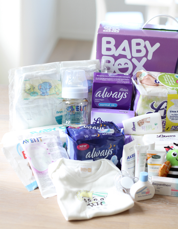 gravid gratis produkter