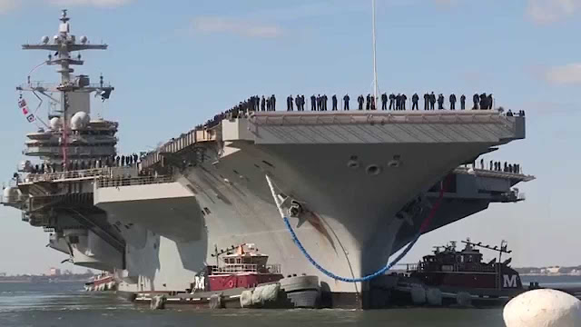 Καλως ήρθε το δολάριo: 300 ιρερόδουλες έφτασαν στην Κρήτη για το αμερικάνικο αεροπλανοφόρο