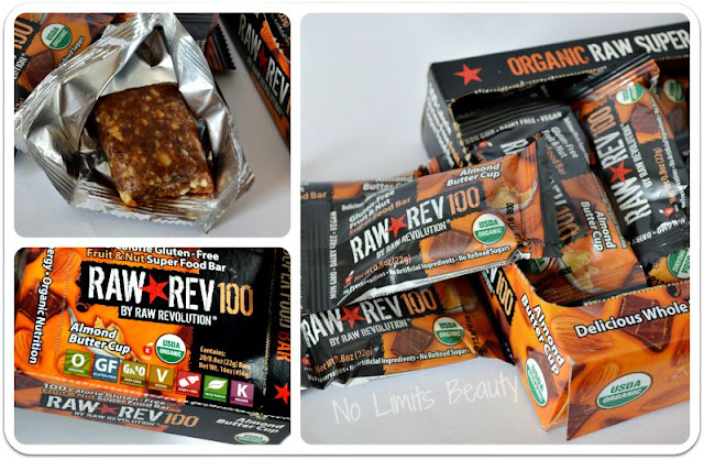 iHerb - Raw Revolution, Almond Buttercup, 20 Bars
