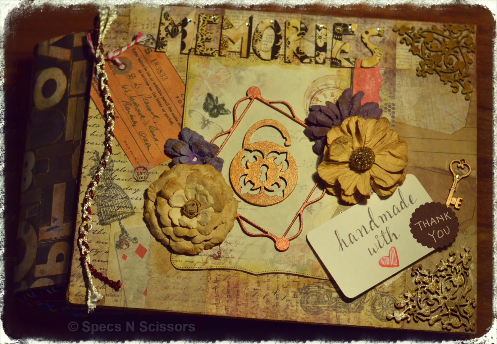 Specs N Scissors - Customized Gifts - Vintage Album