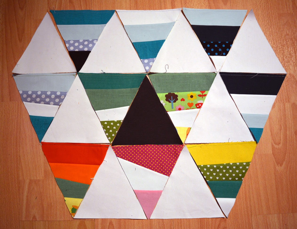 [Nähen] Resteverwertungs Patchwork