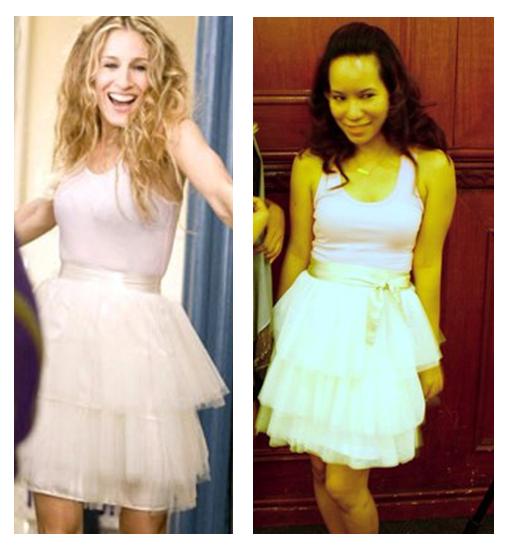 Ichigo Chic: My Take on Carrie Bradshaws White Tulle Skirt