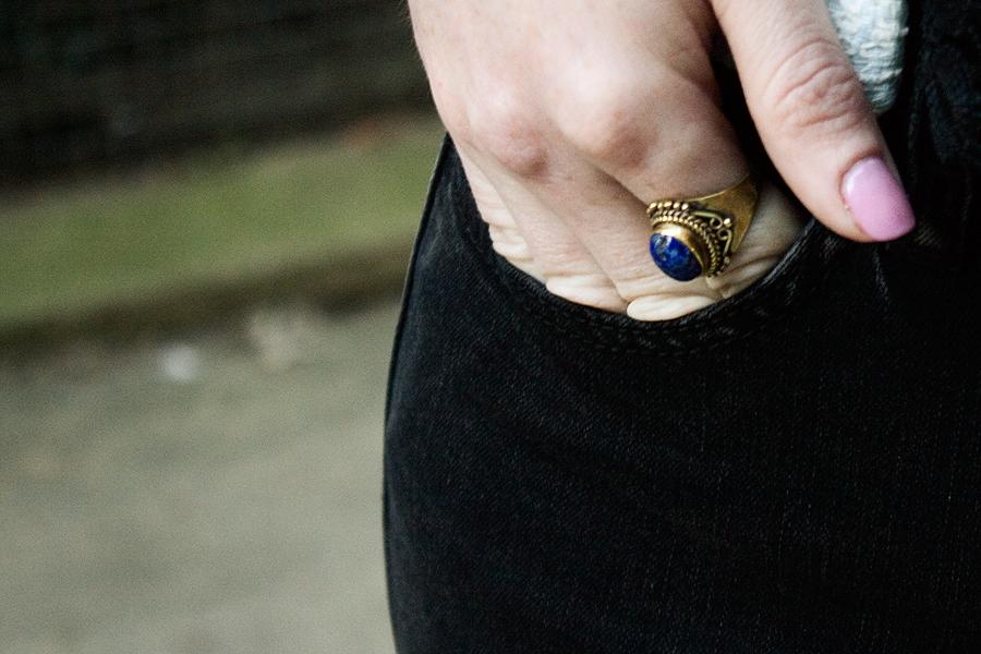 Vintage jewellery close up