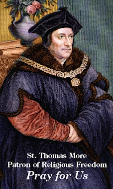 St. Thomas More - Pray for Us
