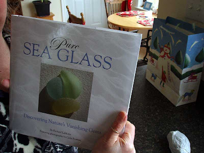 Pure Sea Glass Book by Richard LaMotte was my Granny New Year gift this year.