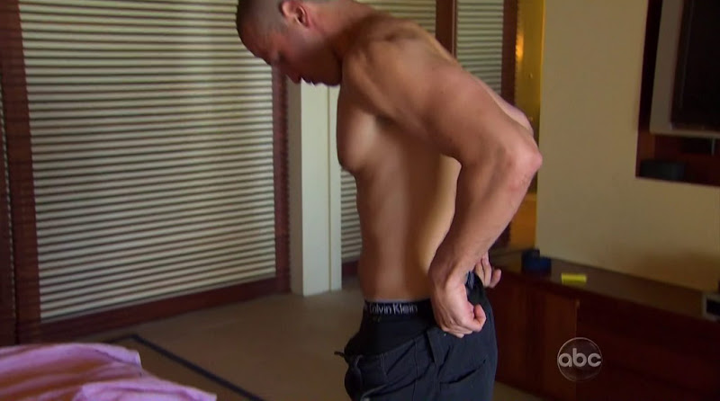 J.P. Rosenbaum Shirtless in the Bachelorette s7 week 10