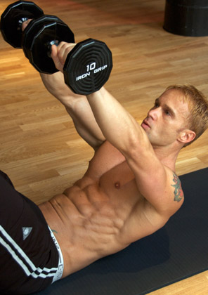 Fit For Life: Abs Work out with Weights