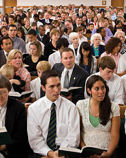 Mormon Congregation Image from More Good Foundation