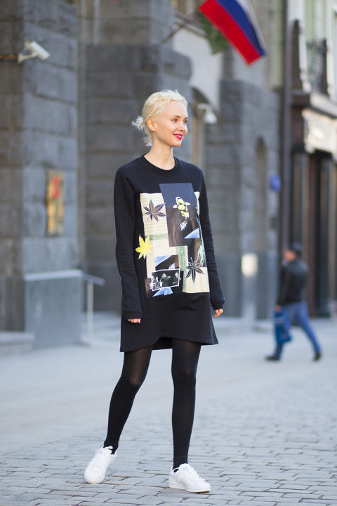 Olga karput in raf simons shoes