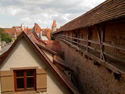 Muralla de Rothenburg ob der Tauber