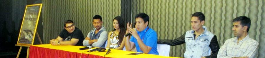 Press Conference Launching Thriller dan Poster Film Danau Hitam - Daniel Topan, Denny Sumargo, Maria Selena, Nadine Chandrawinata, Jose Purnomo, Ganindra Bimo, dan Sunil Samtani