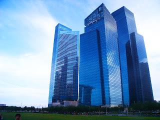 Marina Bay Finance Centre Tower Singapore, Marina Bay Sands