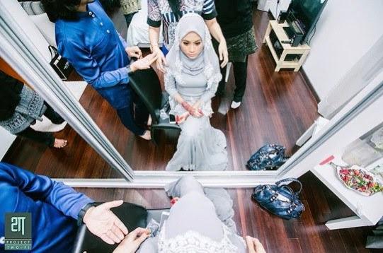 Gambar Majlis Perkahwinan Erin Malek Dan Farriz Fauzy
