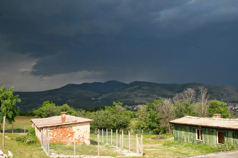 The storm approacheth