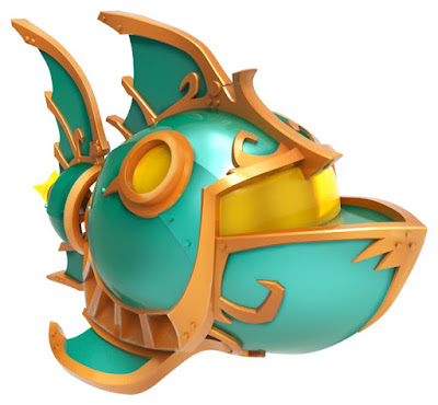 TOYS : JUGUETES - Skylanders SuperChargers  Sea Racing Action Pack   Deep Dive Gill Grunt + Reef Ripper + Sea Trophy   Figura + vehículo + trofeo  Producto Oficial | Videojuego | Activicion 2015 | A partir de 6 años    Comprar en Amazon España & buy Amazon USA