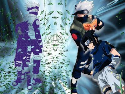 gambar sasuke kakashi wallpaper
