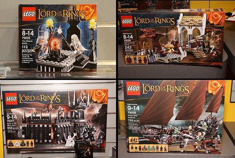 Upcoming Lego Lord Of The Rings Sets