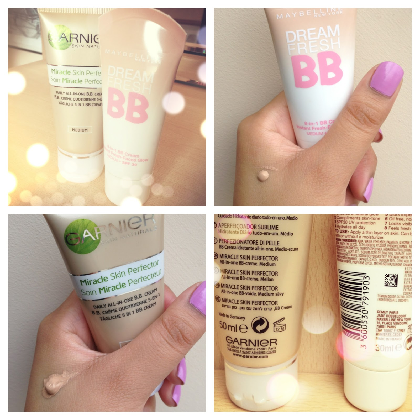 Review | Battle of the BB creams feat. Garnier & Maybelline
