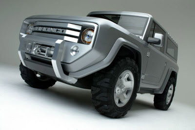 Ford Bronco Concept Cars