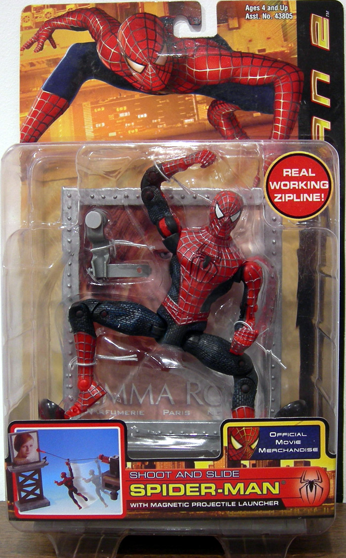 Toys For All : Toys for all shoot and slide spider man