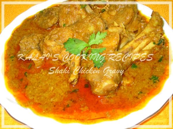 Shahi Chicken Gravy