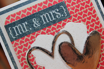 Wedding Card Little Yellow Bicycle SRM Stickers Juliana Michaels detail
