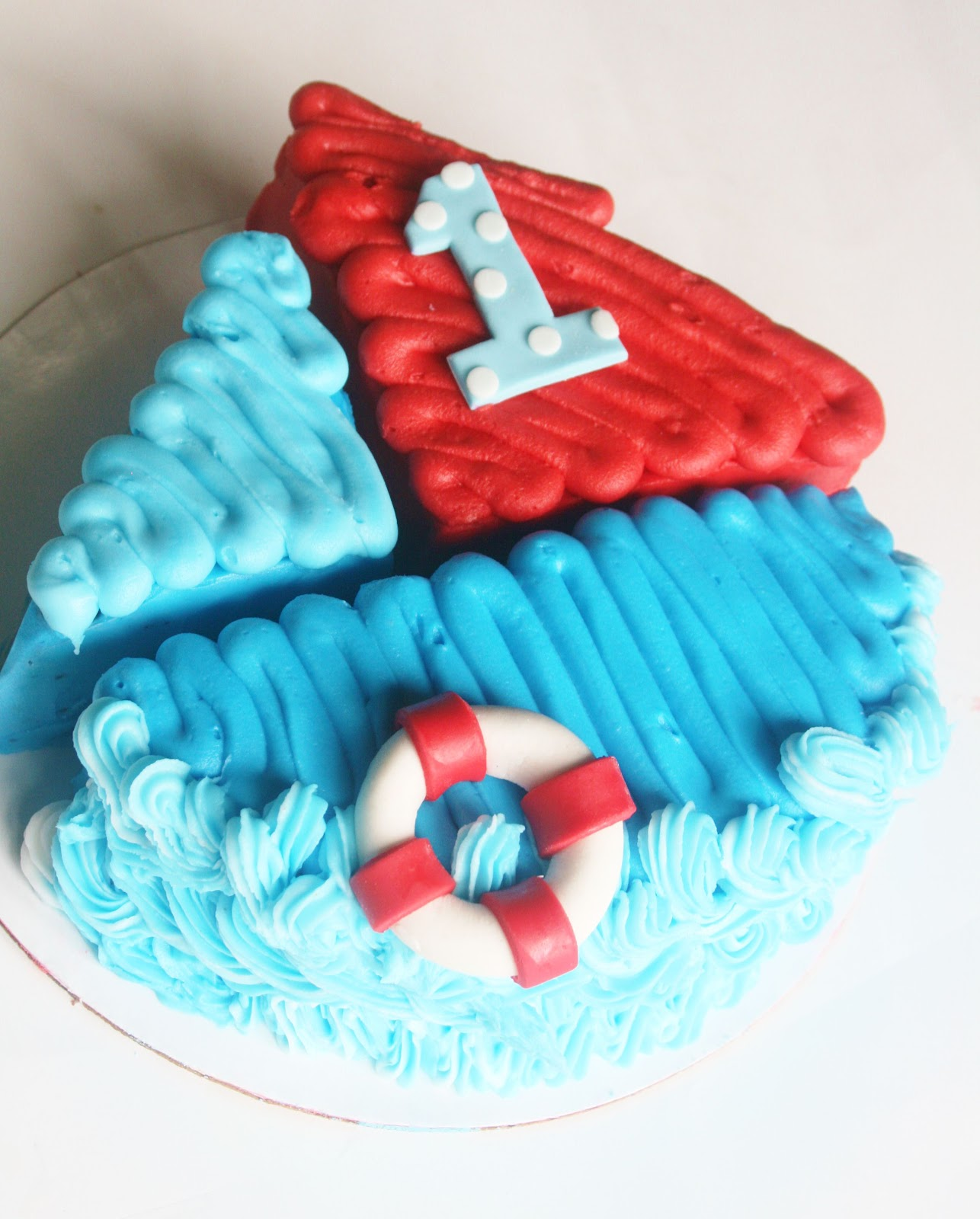 And Everything Sweet: Dylan's Nautical 1st Birthday