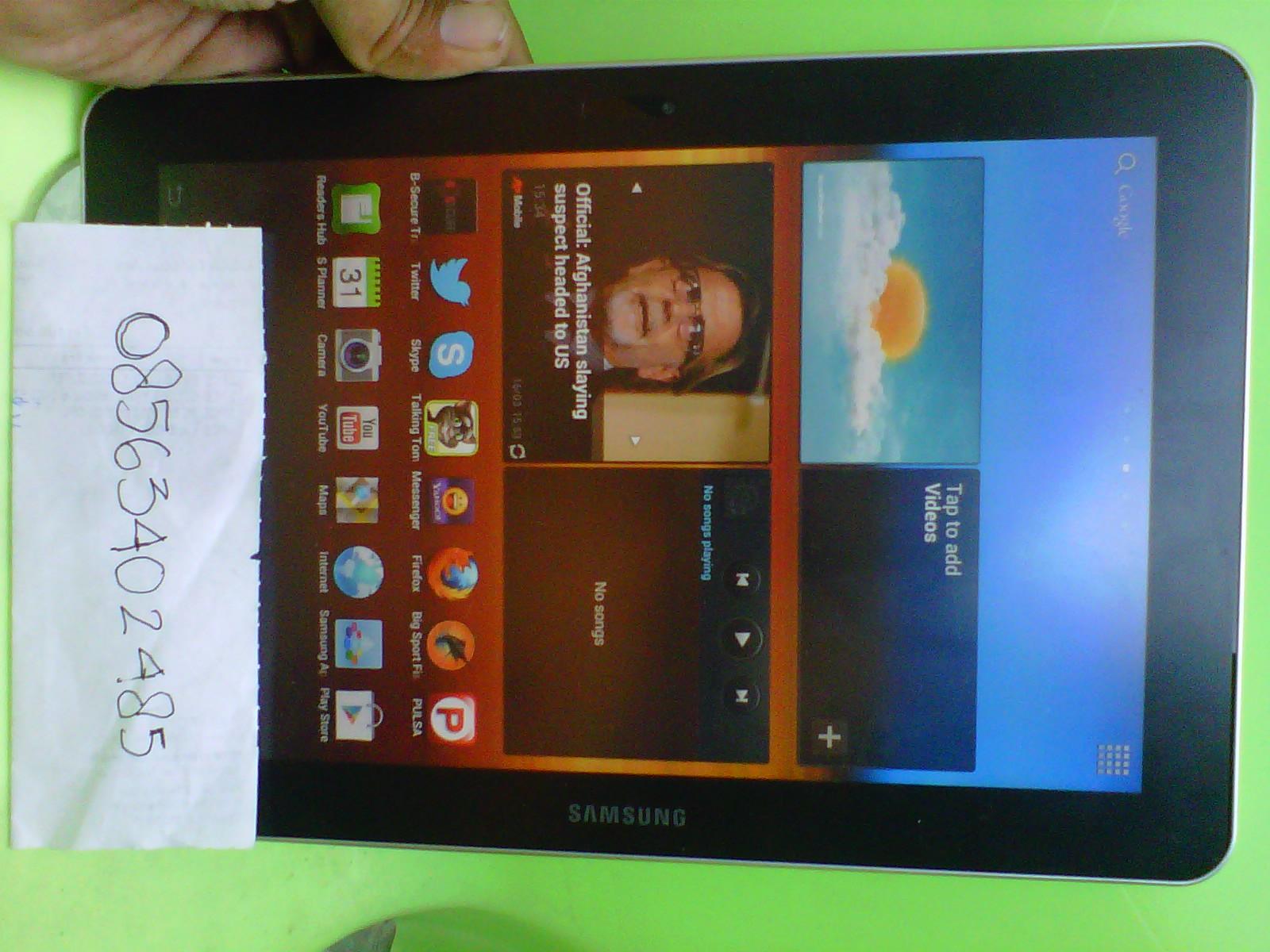 Samsung Galaxy Tab Gt P7500 101 Inch 3g 16gb Mulus Surabaya Handphone Cod Bungurasih