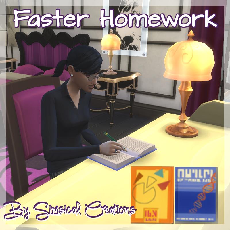 Sims 3 help homework