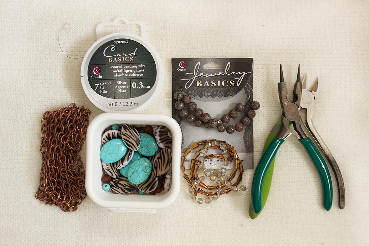 blog hop - coachella hat jewelry + armband - Quiet Lion Creations